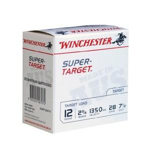 """Winchester 12Ga Super Target 2¾"""" #7½ 28gm"""