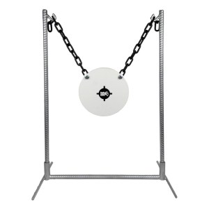 King Gong AR500 10″ Steel Gong Target & Stand