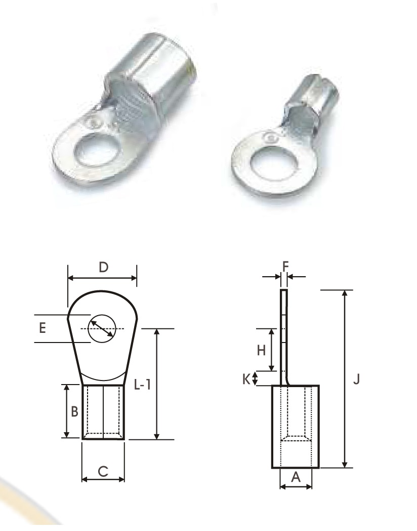 Electrical Crimp Terminal Connector Kit. Diagram. Auto