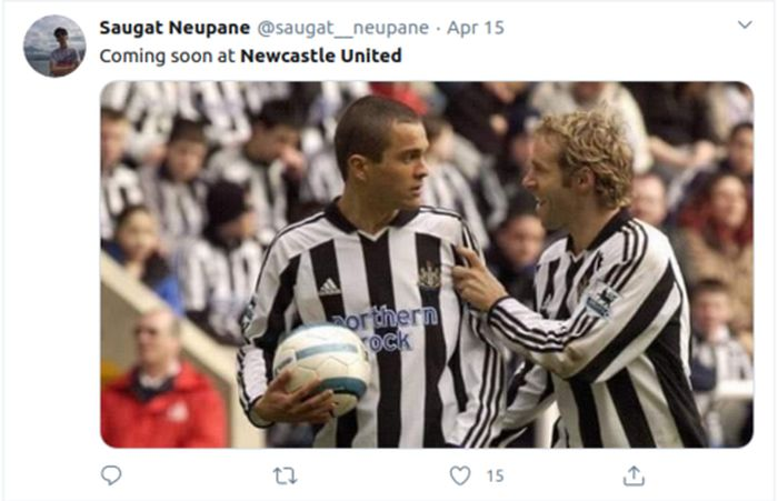 Monday was so long ago but friday is still s. Newcastle Fc Memes : Pin On All Sports News Football ...