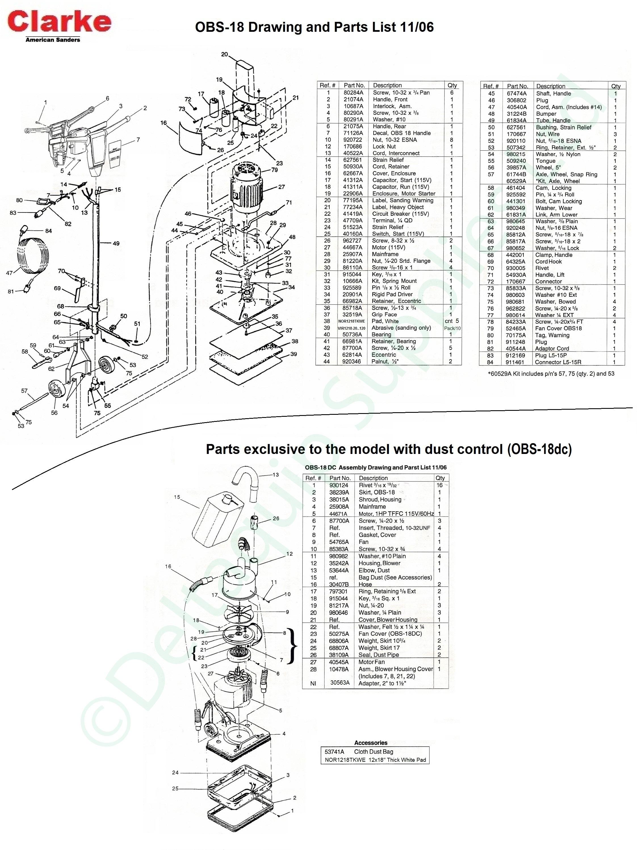 Clarke Floor Sander Du 8 Manual