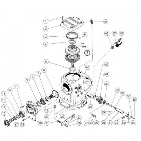 gearbox lombardini marine sail drive