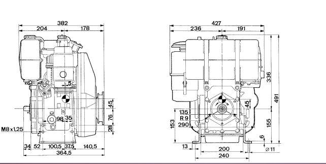 Motore Lombardini 6 LD 401-B1 diesel