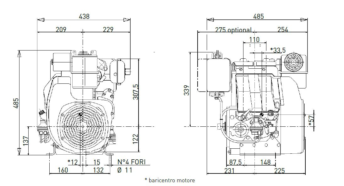 Lombardini diesel engine 25 LD 330/2