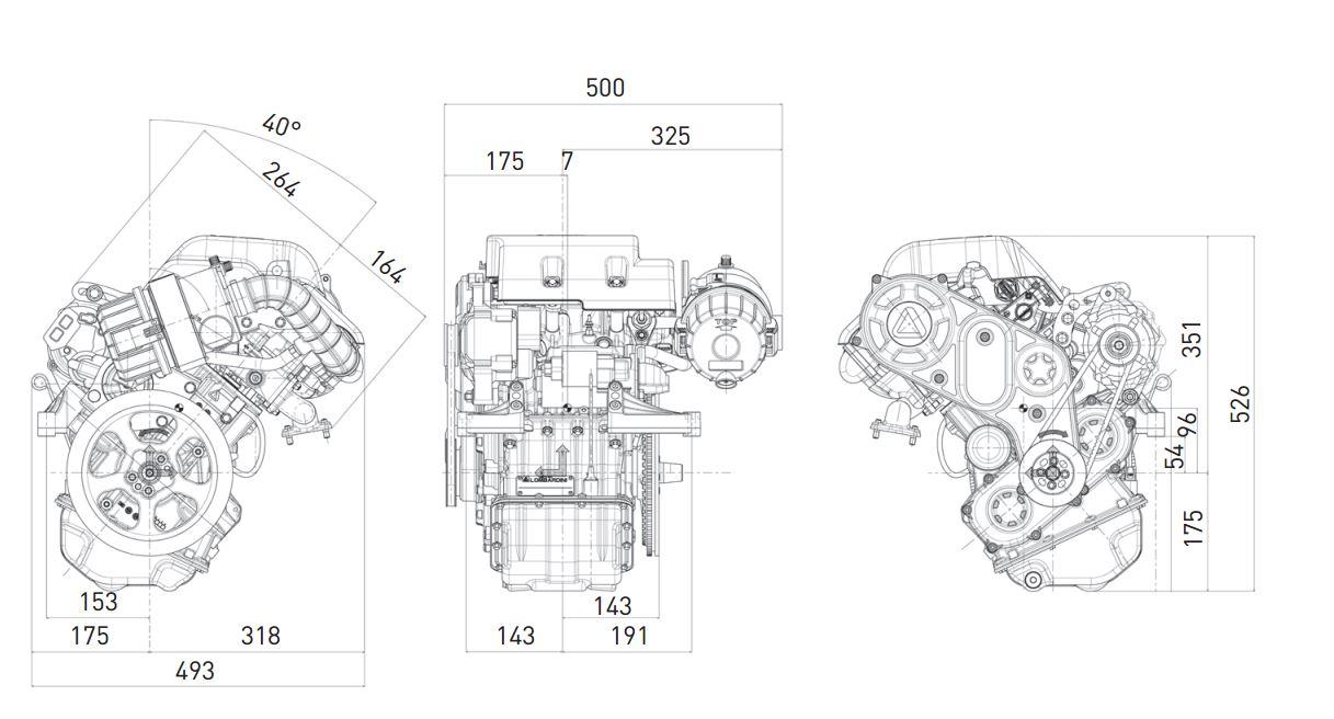 Motore Lombardini LDW 492 diesel automotive
