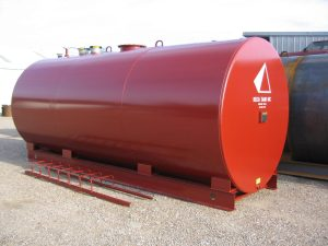 6,000 Gallon UL 142 Aboveground Double Wall Fuel Storage Tank
