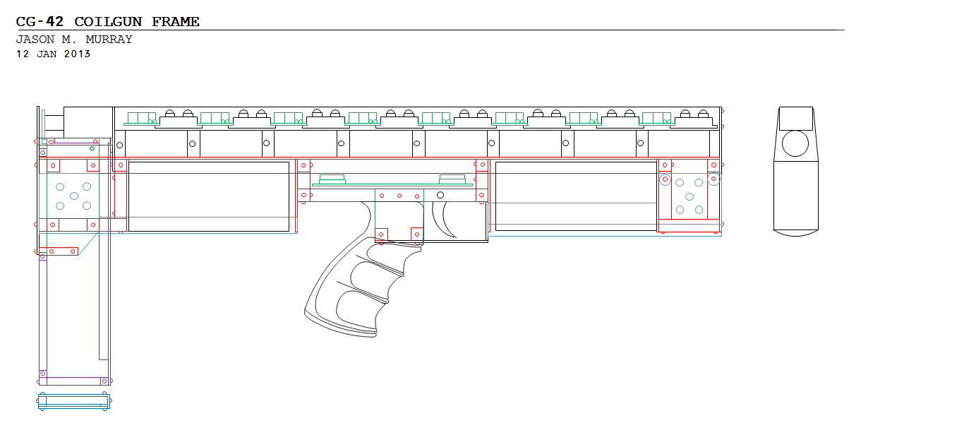 hight resolution of frame schematic