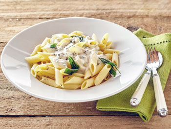 4 fromages - Recette 'One pot pasta quatre fromages'