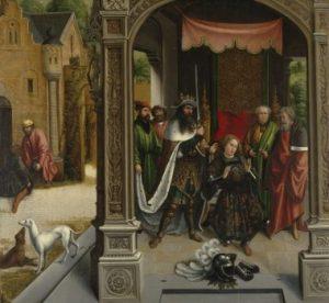Bernard Van Orley La Vierge à l'Enfant adorée par saint Martin et d'autres saints 300x276 - « La peinture s'apprend dans les musées. » (Pierre-Auguste Renoir)