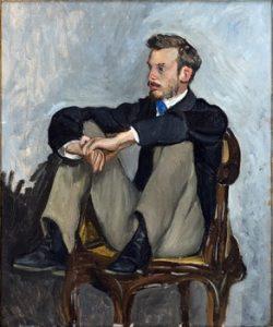 Les Bazille du musée Fabre Portrait dAuguste Renoir 250x300 - Jeune talent...