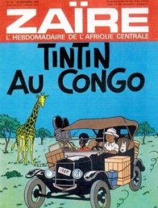 Les tribulations de Tintin au Congo Zaïre 228x300 - Mise au point…