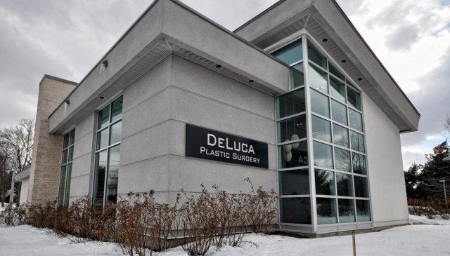 Deluca Plastic Surgery Building Slide