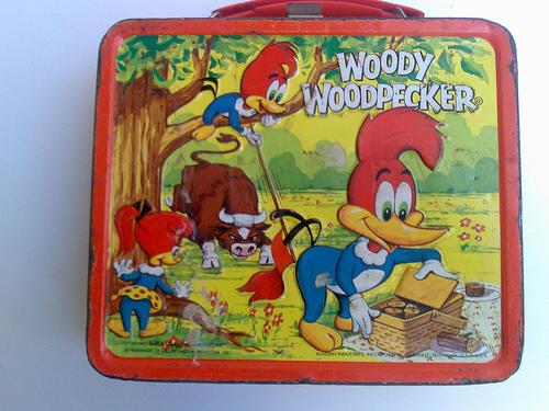 woddy woodpecker lunchbox