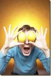 guy with lemon eyes