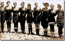old swim suits