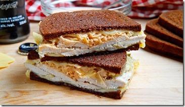 The Rachel Sandwich (aka Roast Turkey Reuben Sandwich) 500 5494