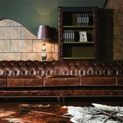 Distressed Leather Corner Sofa Uk Wall Bed Murphy Vintage Chesterfield Extra Large Sofa- Luxury ...