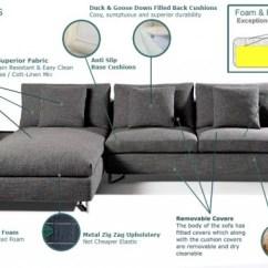 Duck Feather Corner Sofa Zebra Print Bed Sanborg Brown Grey European Sofas Furniture Style