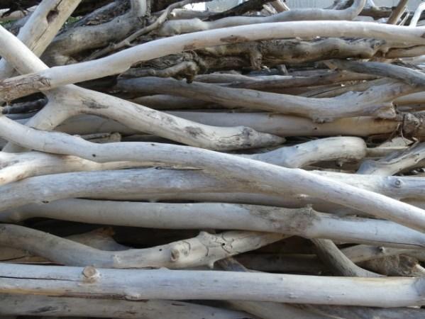Bois flotté. Branches de bois flotté de toutes tailles et de différents diamètres. Branches de bois flotté naturelles vendues à l'unité, telles qu'elles ont été ramassées sur les plages sur la boutique en ligne Deluxe Créations