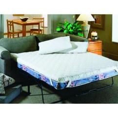 Queen Sleeper Sofa Mattress Pad Lawson Two Chaise Sectional With Five Total Seats Foam Sofabed White 2 Quoth X 60 Quotw 72 Quotd