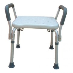 Drive Shower Chair Without Back Euro Covers Bath Bench Adj Ht W O Remov Padded Arms