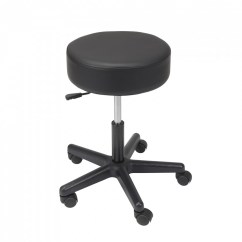 Chair Revolving Steel Base With Wheels Walmart Gaming Chairs Padded Seat Pneumatic Adjustable Height Stool