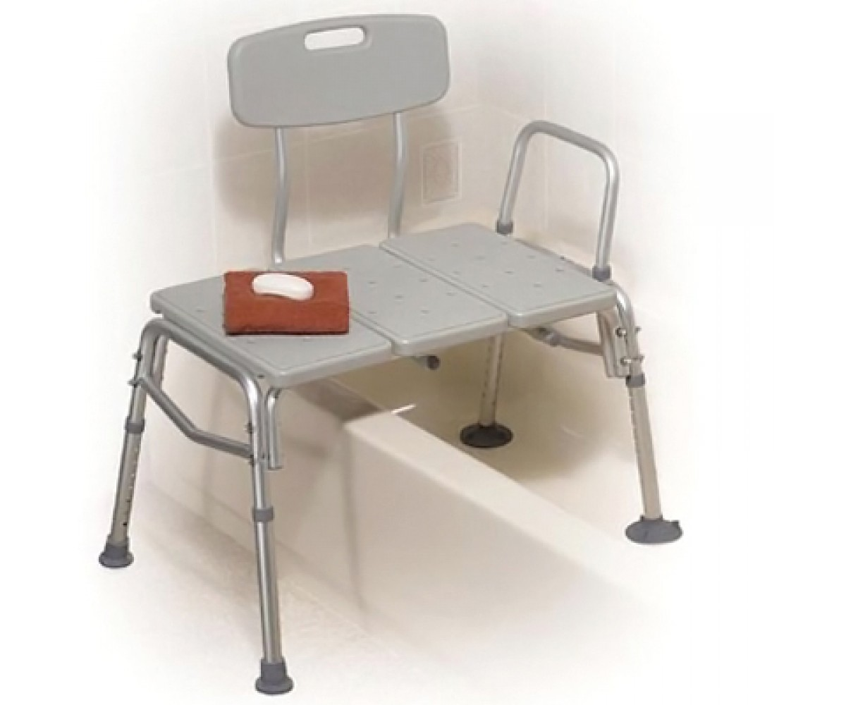 grey bathroom safety shower tub bench chair office zero gravity transfer commode combination wpadded seat