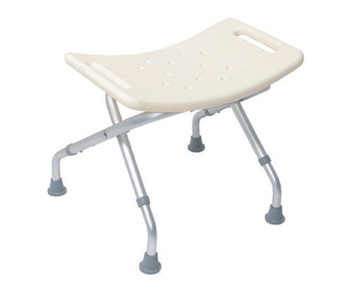 drive shower chair without back black and white cowhide folding seat w out backrest