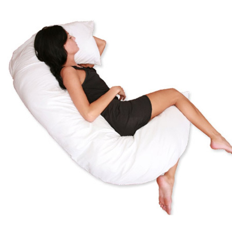 Deluxe Comfort C Shaped Full Body Pillow