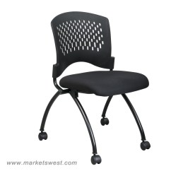 Folding Armless Camping Chairs Craigslist Barber Deluxe Chair With Ventilated Plastic Wrap
