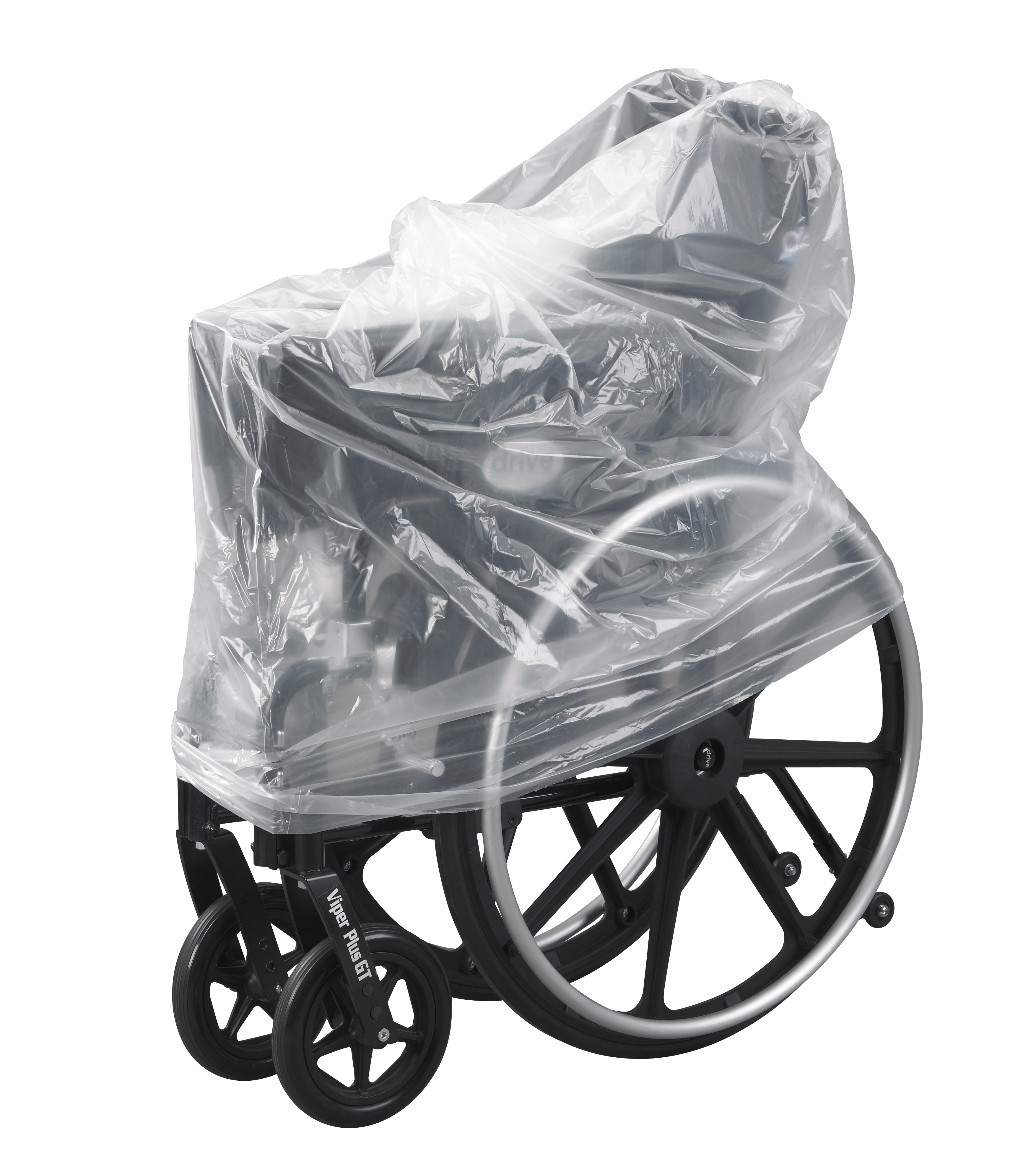 fishing chair hand wheel how much to reupholster a dining room clear plastic wheelchair storage transport cover bag