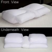 Better Sleep Pillow - Microbead Cloud Version- Sleeping w ...