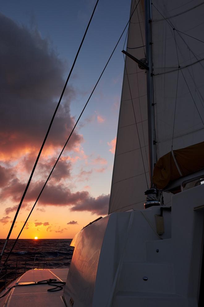 Sonnenuntergang Parana II, Meilentörn Kanaren
