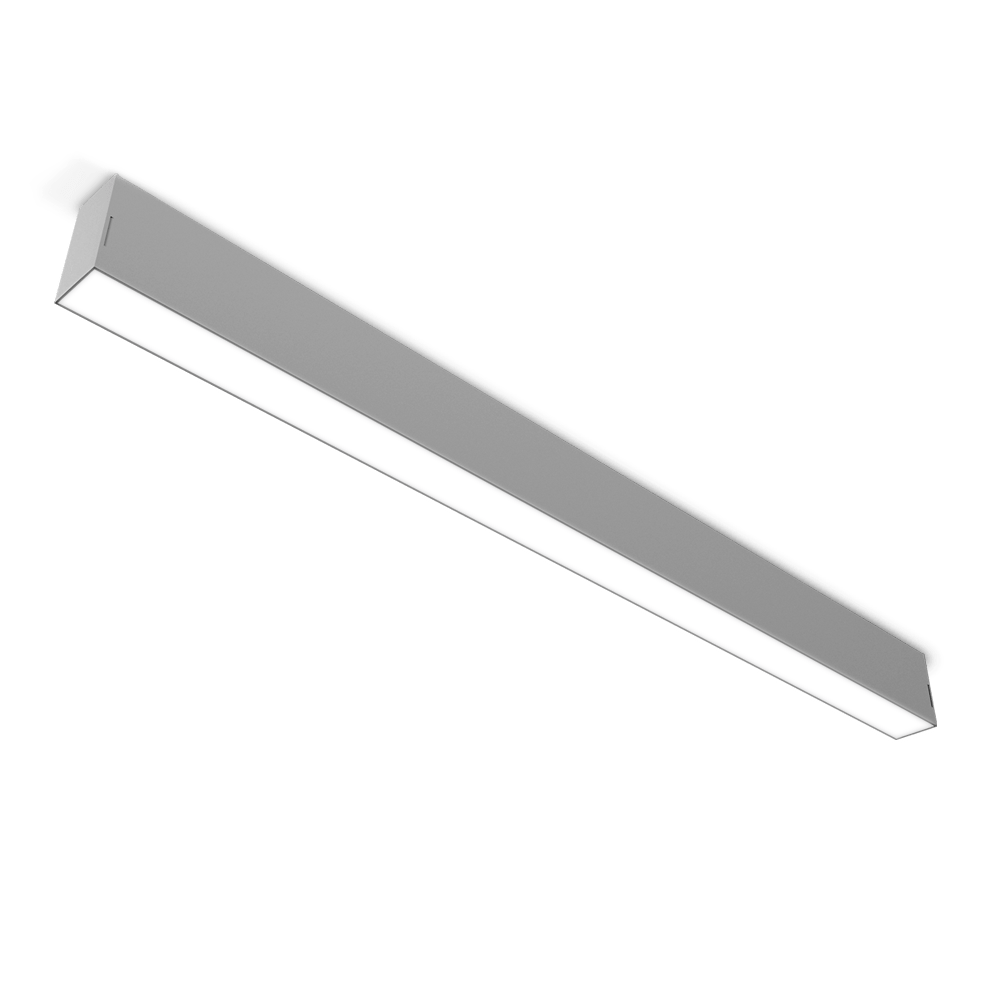 2.25 wide architectural surface mount LED light fixture