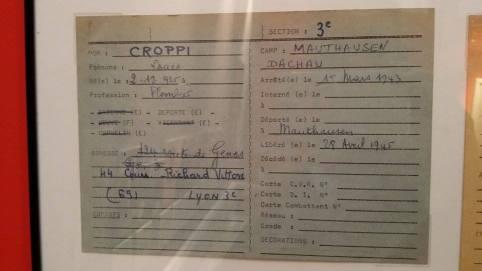 Des immigrés italiens ont été déportés dans des camps de concentration, pendant la Seconde Guerre mondiale.