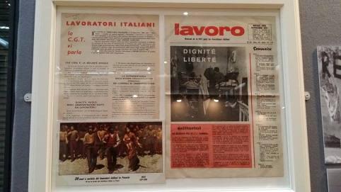 La presse italienne et militante s'est développée parmi la communauté italienne.
