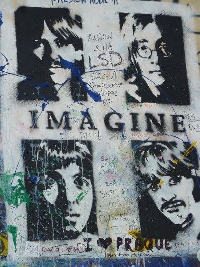 Hommage à Lennon.