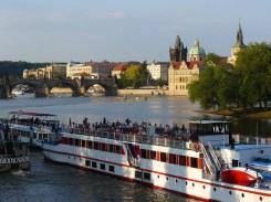 La Vltava, à Prague