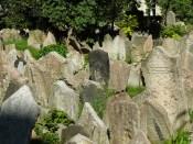 Le cimetière juif de Prague peut se visiter.