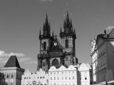 Cette église gothique est un des symboles de la vieille ville de Prague.