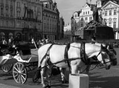 La vieille ville de Prague.