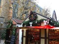 Une maisonnette du marché de Noël.