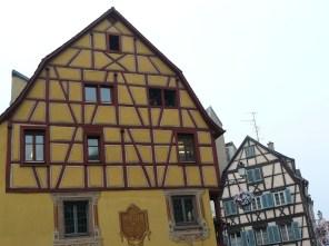 Maisons à colombages à Colmar.