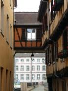 Dans le Vieux Colmar.