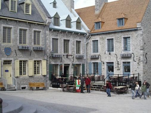 La place Royale de Québec.