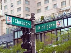 La Route 66 démarre à Chicago.