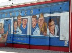 La petite ville de Cuba compte de nombreuses fresques murales.