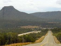 Paysage désertique du Nouveau-Mexique.