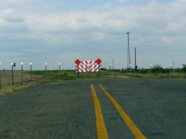 Parfois, la route 66 s'arrête... sans prévenir !
