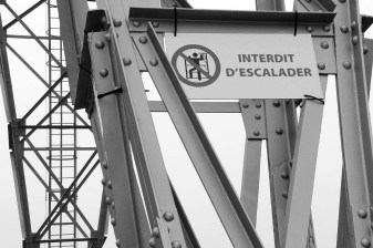 Vestiges du port industriel.